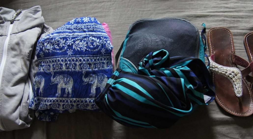 inpakken backpacken