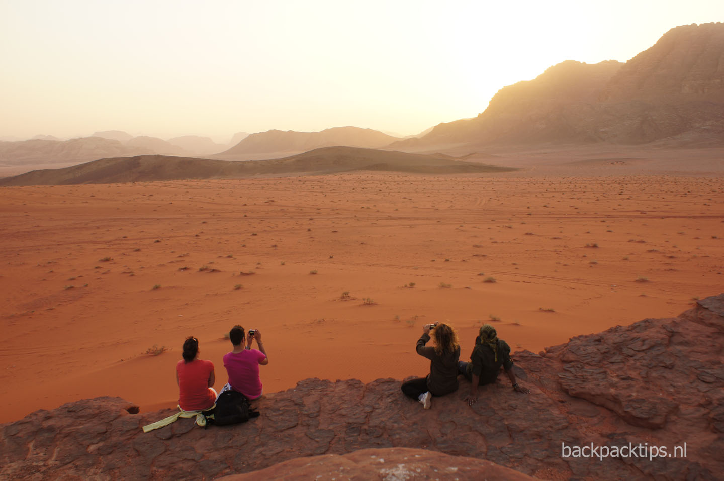 backpacken jordanie