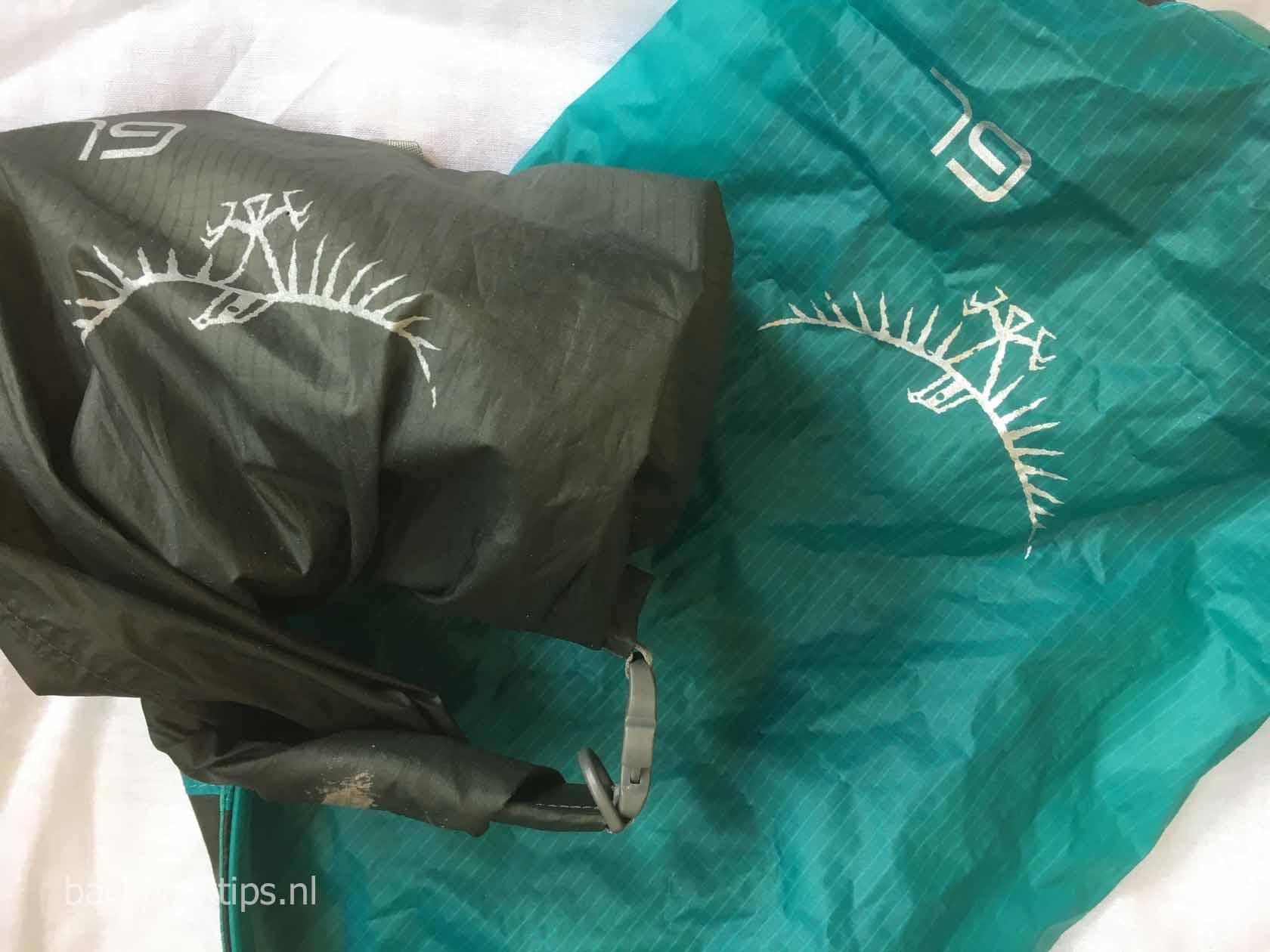 26ea3a1e121 De beste waterdichte zak voor een backpacker - Backpacktips