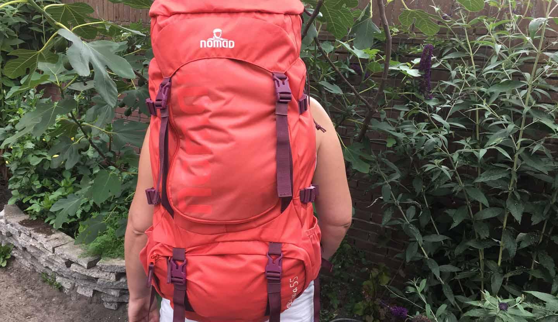 c7e80b9a777 Review: Nomad Batura rugzak - Backpacktips