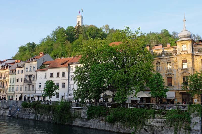 Backpacken slovenie
